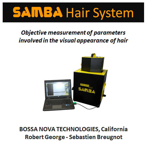 shine gloss color test claims research hair care polarization luster Samba Hair System Presentation