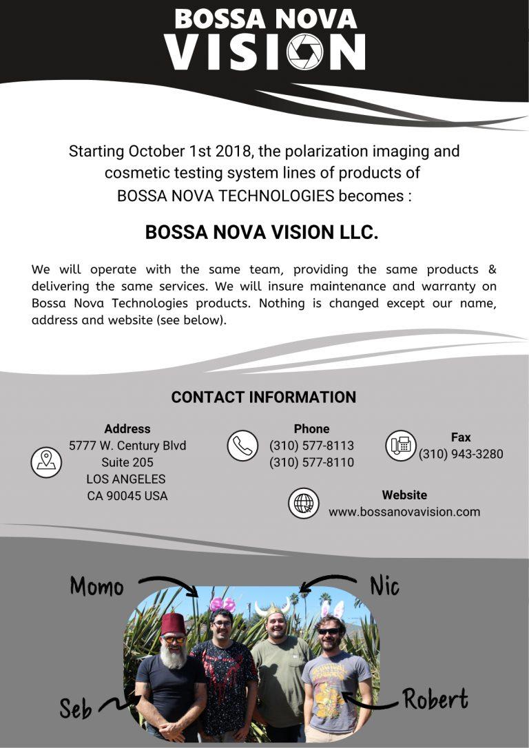 Latest News Bossa Nova Technologies