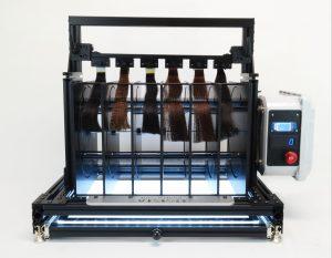 SIRTAKI Combing Machine for breakage abrasion hair care testing